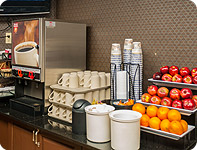 Complimentary Hot Breakfast at our Calgary Airport Hotel