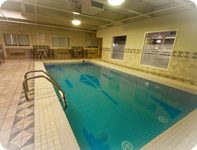 A splash in our Indoor Pool or a workout in our fitness centre - Best Western Airport Inn Calgary